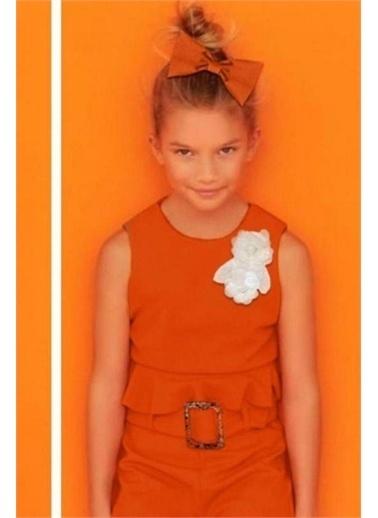 Riccotarz Kız Çocuk Senorita Ispanyol Alt Üst Takım Oranj